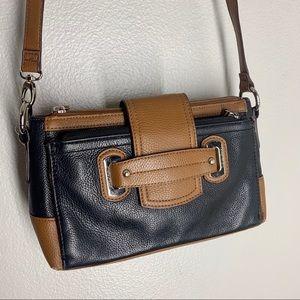 Tignanello Perfect Pockets Crossbody Bag Leather